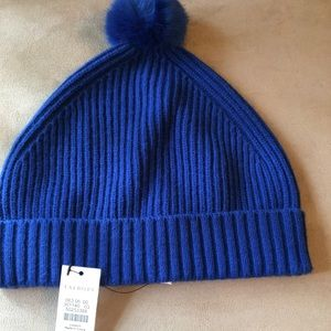 NWT AUTHENTIC TALBOTS ROYAL BLUE HAT